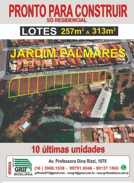 Terreno - Jardim Palmares - Ribeirão Preto